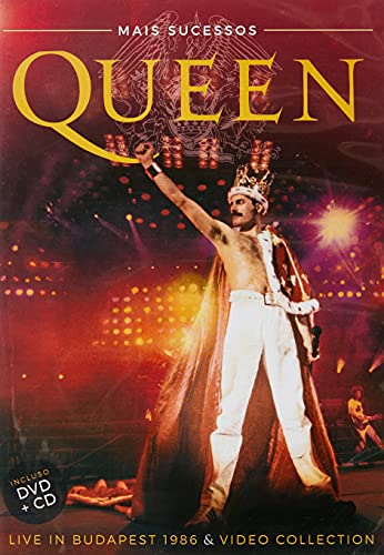 QUEEN MAIS SUCESSOS - LIVE IN BUDAPEST 1986 & VIDEO COLLECTION (DVD + CD)