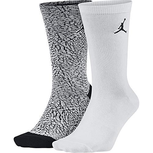 Nike Calcetines para Hombre - Blanco/Negro