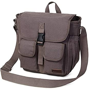 Insulated Lunch Bag SCORLIA Leakproof Lunch Cooler Bag With Adjustable Shoulder Strap Durable Reusable lunch Box with Side pockets and Drinks Holder for Men Women Work School Picnic Grey