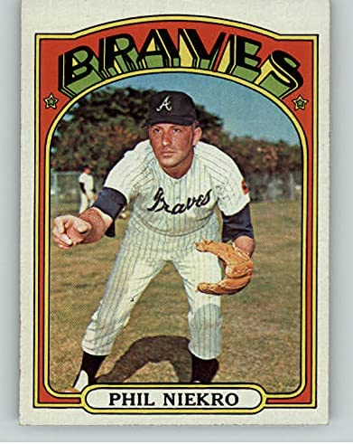 1972 Topps #620 Cash special price Phil Niekro Braves 407431 Kit Cards Young Max 45% OFF NR-MT