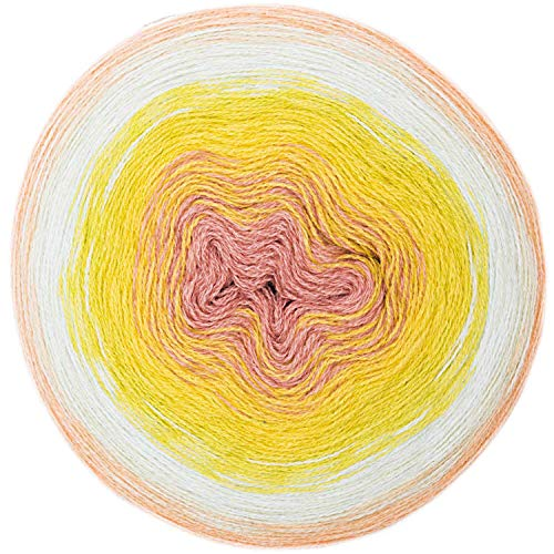 Rico creative Wool Degrade Super 6 Fb. 09 Bobbel Farbverlaufswolle zum Häkeln u. Stricken
