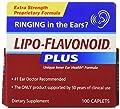 Lipo-flavonoid Plus Ear Health Formula 100 Caplets