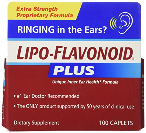 Lipo-Flavonoid Plus Unique Ear Health Formula, Caplets, 100 ct.