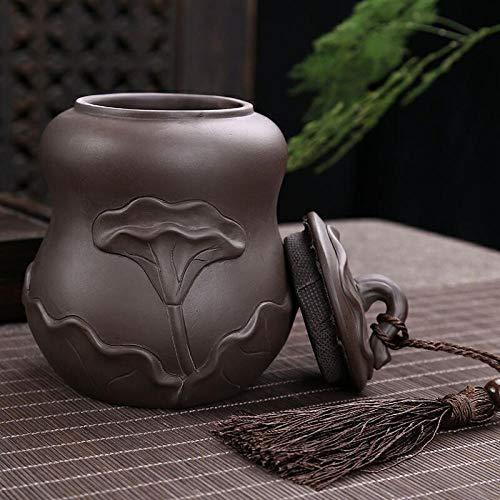 Teeservice große halbe Catty lila Sand Keramik Teedosen versiegelte Dosen Zuckerstangen Teetassen ogo benutzerdefinierte Teesets-400