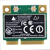 ASHATA Tarjeta de Red de Doble Banda, Tarjeta de Red 2.4G / 5Ghz 433Mbps WiFi Mini Tarjeta inalámbrica PCI-E para Windows 7/10, para computadora de Escritorio, computadora portátil