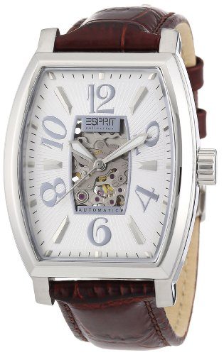 Esprit EL900191002 - Reloj de Cuarzo para Hombres, Color marrón