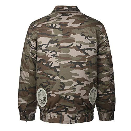 Kleding voor dames of heren, werkkleding, kleding met koelventiel, voor jacht, vissen bij hoge temperatuur, camouflage en vrije tijd, sport en vrije tijd.