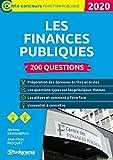 Les finances publiques 2020 - 200 questions - STUDYRAMA - 17/09/2019