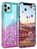 Vunake für iPhone 11 Pro Hülle,Glitzer Treibsand Case Handyhülle Diamond Flash Cover Bumper...
