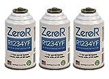 ZeroR R1234YF UV Dye Leak Detector - 3 Cans