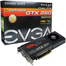 EVGA GeForce GTX260 Core 216 896MB DDR3 PCI-Express 2.0 Graphics Card 896-P3-1255-AR