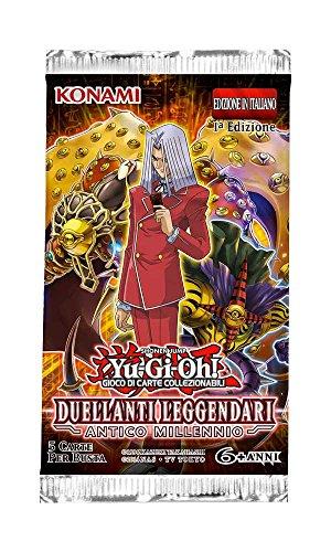 Konami- DL Antico MILLENNIO Bustina con 5 Carte Yu-Gi-Oh, TCG229