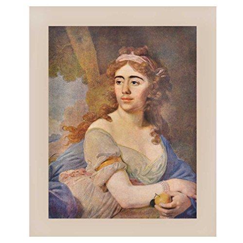 Indien étagère Papier Fait Main Royal Princess Portrait/Impressions/Lithographs/décoration Murale Pt-180