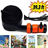 Trampoline Sprinklers for Kids, Outdoor Fun Trampoline Water Park Summer Toys Trampoline Accessories, Outside...