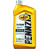 Pennzoil Platinum Full Synthetic Motor Oil  5W-30, 1 Quart - Pack of 1