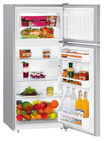 Liebherr CTel 2131 frigorifero con congelatore Libera installazione Argento 196 L A++
