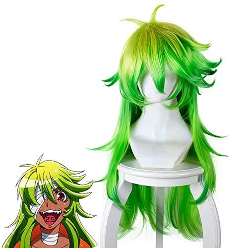 Diocos Anime Detention House Nanbaka Jyugo Nico Rock Goku Cosplay Wigs One Size Nico Wig