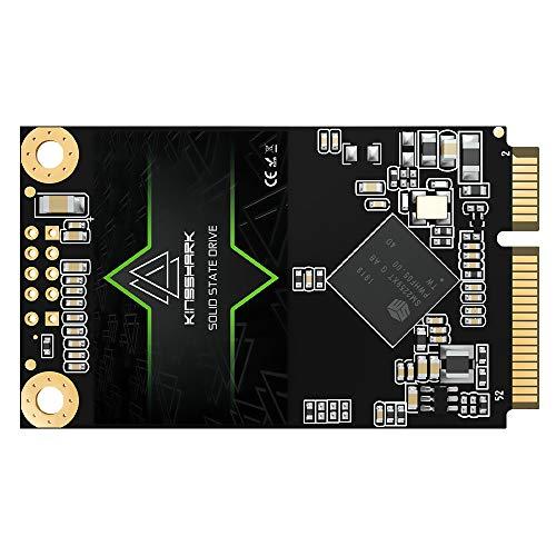 Msata SSD 500GB KingShark Interno Allo Stato Solido Drive mSATA SSD 30 * 50MM 6 Gb/s Alte prestazioni mSATA Mini Hard Disk (500GB, Msata)