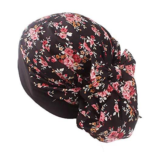 Pluto & Fox Kopftuch Damen Chemo Turban Elegant Bandana Kopfbedeckung für Krebs, Chemotherapie, Haarausfall, Schlaf, Make up (# 6)