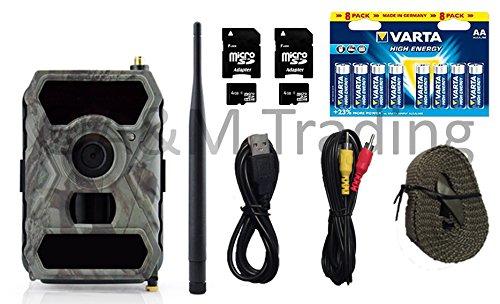 X-view Wildkamera Überwachungskamera Starterpaket GPRS-Mail   Full HD I 12MP I IR 940nm Black LEDs I OVP