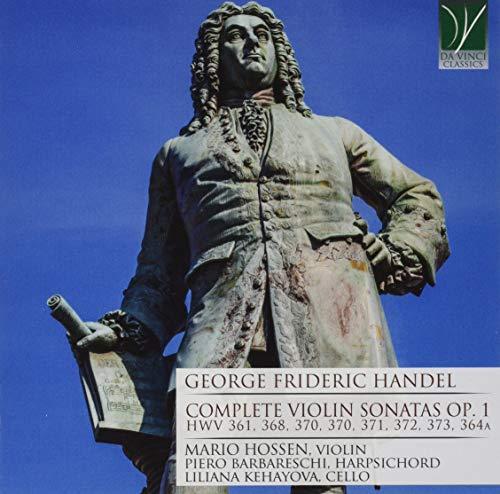 Handel: Complete Violin Sonatas Op 1