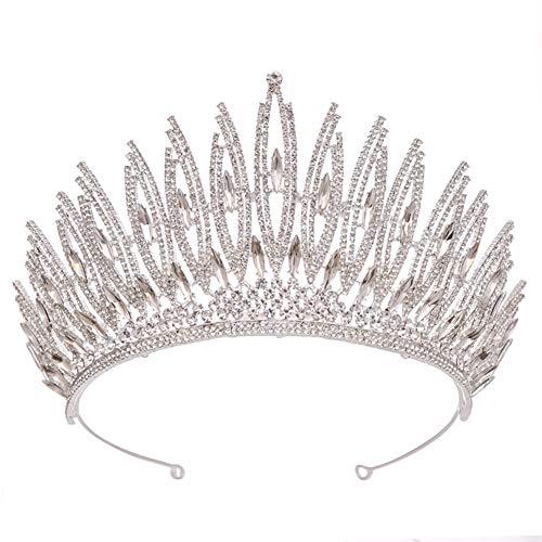 Jezus Liefde U Bruids Hoofdtooi Kroon Haarband Bruiloft Accessoires Bruiloft Legering Diamant Kroon Haaraccessoires