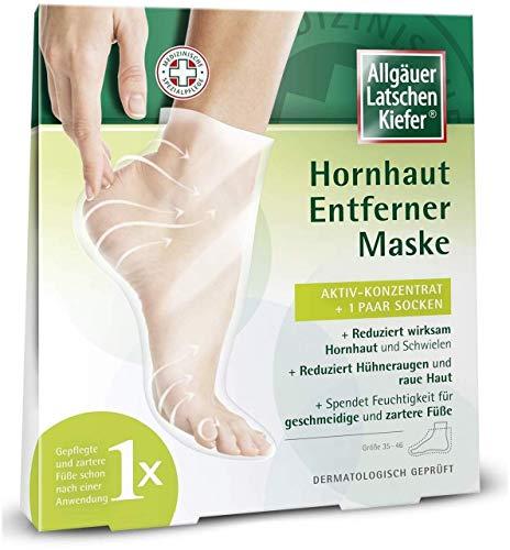 Allgäuer Latschenkiefer Hornhaut Entferner Maske, 1 P