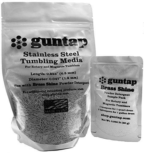 """Stainless Steel Tumbling Media Pins - 0.047"""" Diameter, 0.255"""" Length (3 lb Pack)"""
