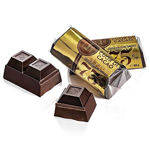 Venchi - Mini bloc de chocolate negro 75% cacao 185 g