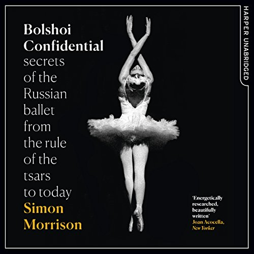 Bolshoi Confidential audiobook cover art