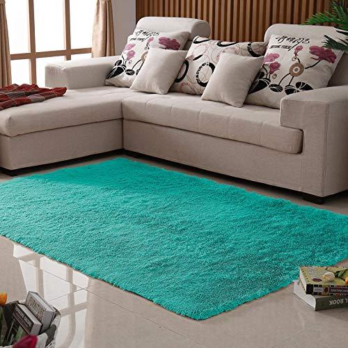 Alfombra para dormitorio, salón, mesa de sofá, oficina, alfombra moderna y sencilla, alfombra para ventana, manta de 1,4 x 2 m