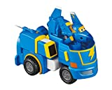 Super Wings - – Jerome'S Stunt Bot | Transforming Toy Vehicle Set | Includes Transform-A-Bot Jerome Figure | 2' Scale