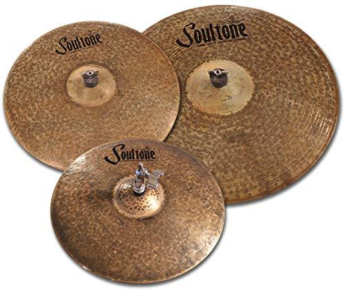 Soultone Cymbals VOS64-HHT14-14 Vintage Old School 1964 Hi Hats Pair Drum Connection Inc.