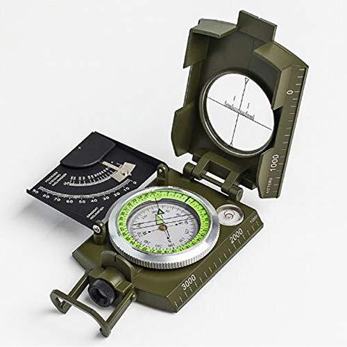 LEY High-End-Amerikanische Kompass Im Freien Spielraum Genauigkeit Kompass Waage Wasserwaage Slope Meter Leuchtlupe