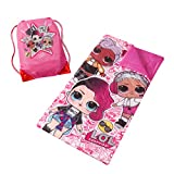 LOL Surprise Sling Bag Slumber Set, Pink