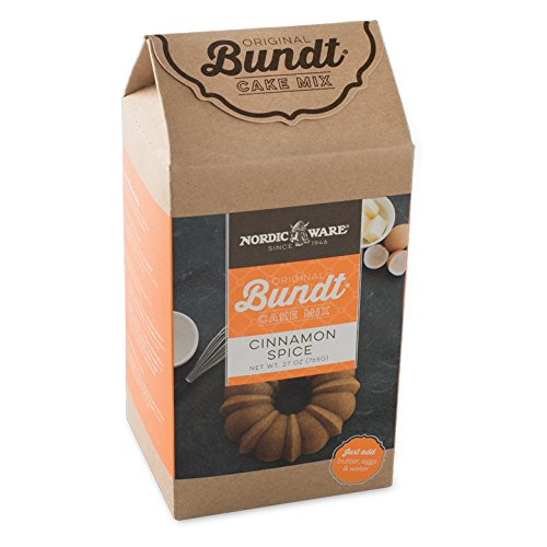 Nordic Ware Cinnamon Spice Bundt Cake Mix