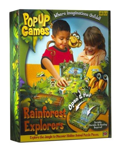 PopUp Games - Rainforest Safari [Import anglais]
