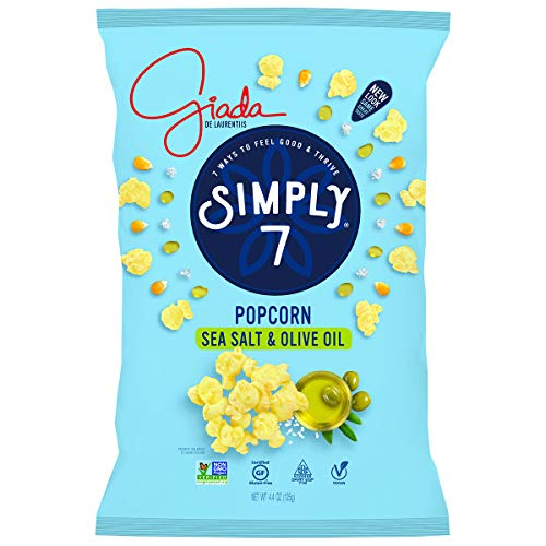 Review Of Simply 7 with Giada Popcorn, Sea Salt & Olive Oil (Pack of 12), Packaging May Vary