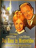 Das Haus in Montevideo - Heinz Rühmann - Filmposter A1