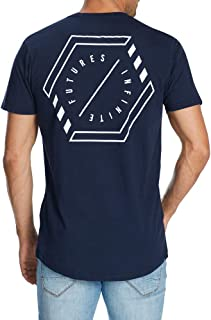 Connor Men's Kylo Longline Crew Tee T-Shirts Casual Tops Sizes XS-3XL Affordable Quality with Great Value