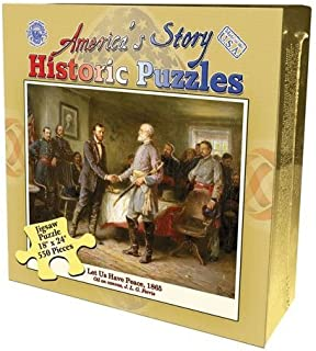 Channel Craft America's Story Let Us Have Peace, 1865 Jigsaw Puzzle 550 Pieces