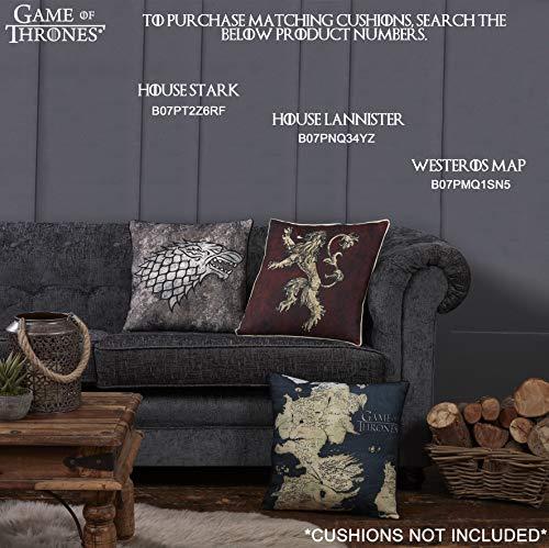 Game of Thrones Gifts Merchandise GOT Blanket Super Soft Bed Throw Stark Lannister Targaryen Greyjoy Baratheon Tyrell Great House Symbols Westeros