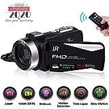 Videokamera Camcorder Full HD 1080P 30FPS Nachtsicht Videokamera Digitalkamera für