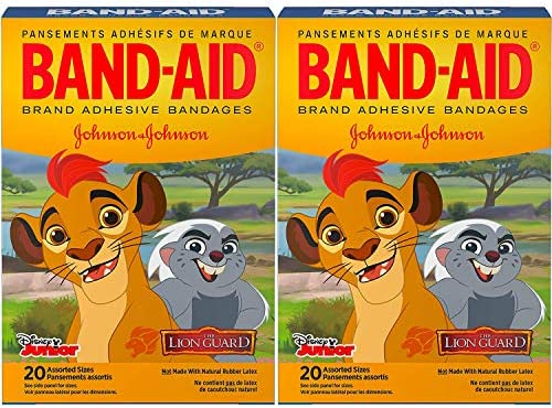 Band Aid Brand Adhesive Bandages for Minor Cuts and Scrapes Featuring Disney Junior The Lion product image