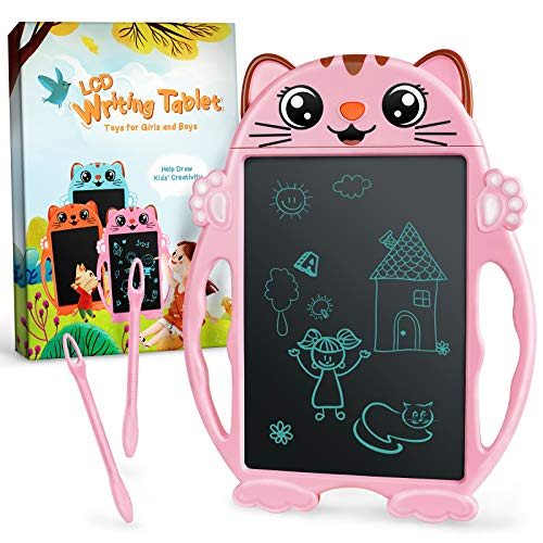 LCD Writing Tablet, Toys for 3 4 5 6 7 Years Old Girls Boys, LCD Drawing Tablet for Kids, Digital Doodle Board for Little Girls Toddlers, Toys Gifts for Girls Boys, Easter Gifts for Kids