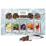 Tea Forte Warming Joy Single Steeps Loose Leaf Tea Sampler Gift Set, Assorted Variety Holiday Tea...