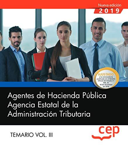 Agentes De Hacienda Publica. AEAT. Temario 3