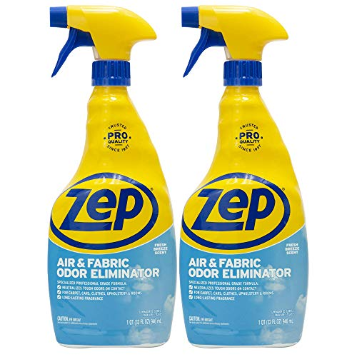 Zep Air and Fabric Odor Eliminator 32 Ounces ZUAIR...