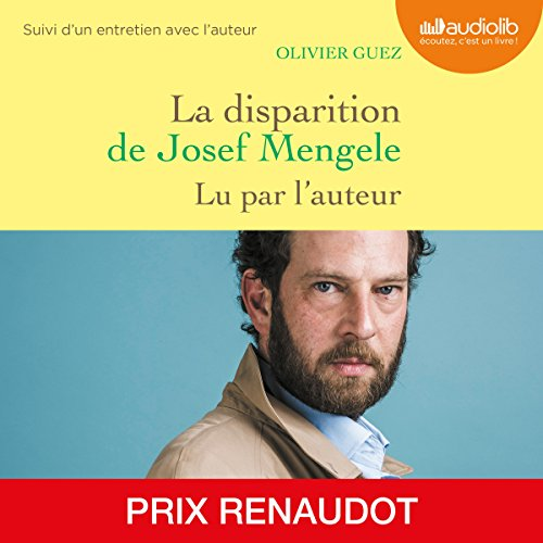 OLIVIER GUEZ - LA DISPARITION DE JOSEF MENGELE [2018] [MP3 192KBPS]