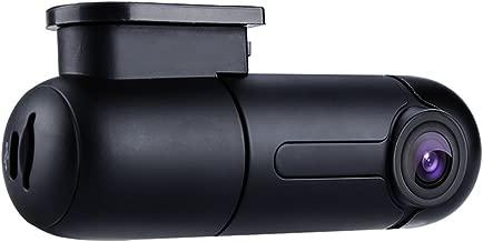 Blueskysea B1W WiFi Mini Dash Cam Car Camera Vehicle Video Driving Recorder 360 Degree Rotatable Lens 1080p 30fps G-Sensor Loop Recording (B1W only)